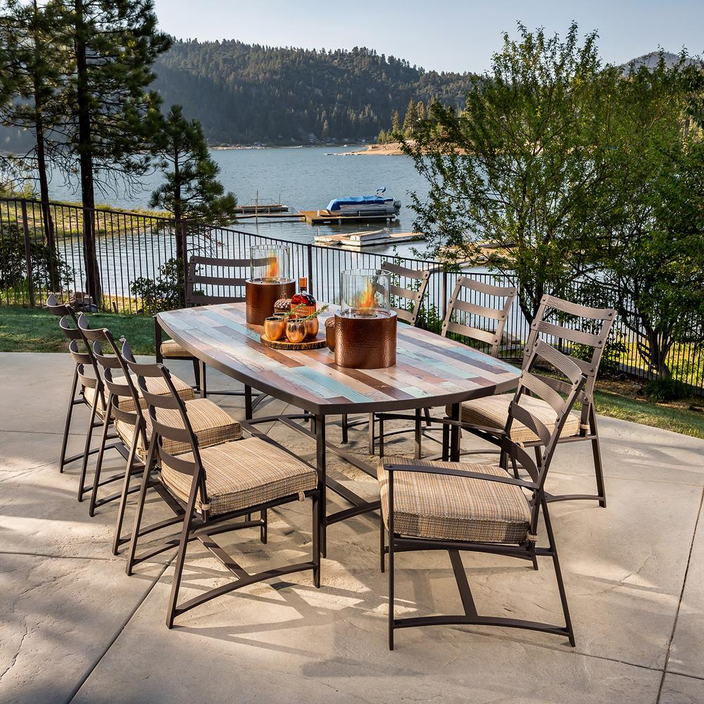 Ow Lee Ridgewood Dining Set With Marina Table