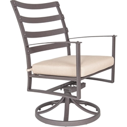 OW Lee Swivel Rocker Dining Arm Chair - 7353-SR