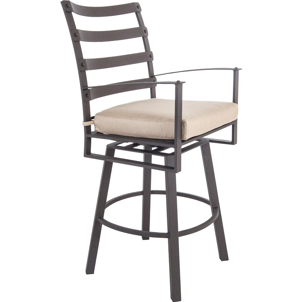 OW Lee Swivel Bar Stool With Arms - 7353-SBS