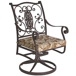 OW Lee San Cristobal Swivel Rocker Dining Arm Chair - 653-SR