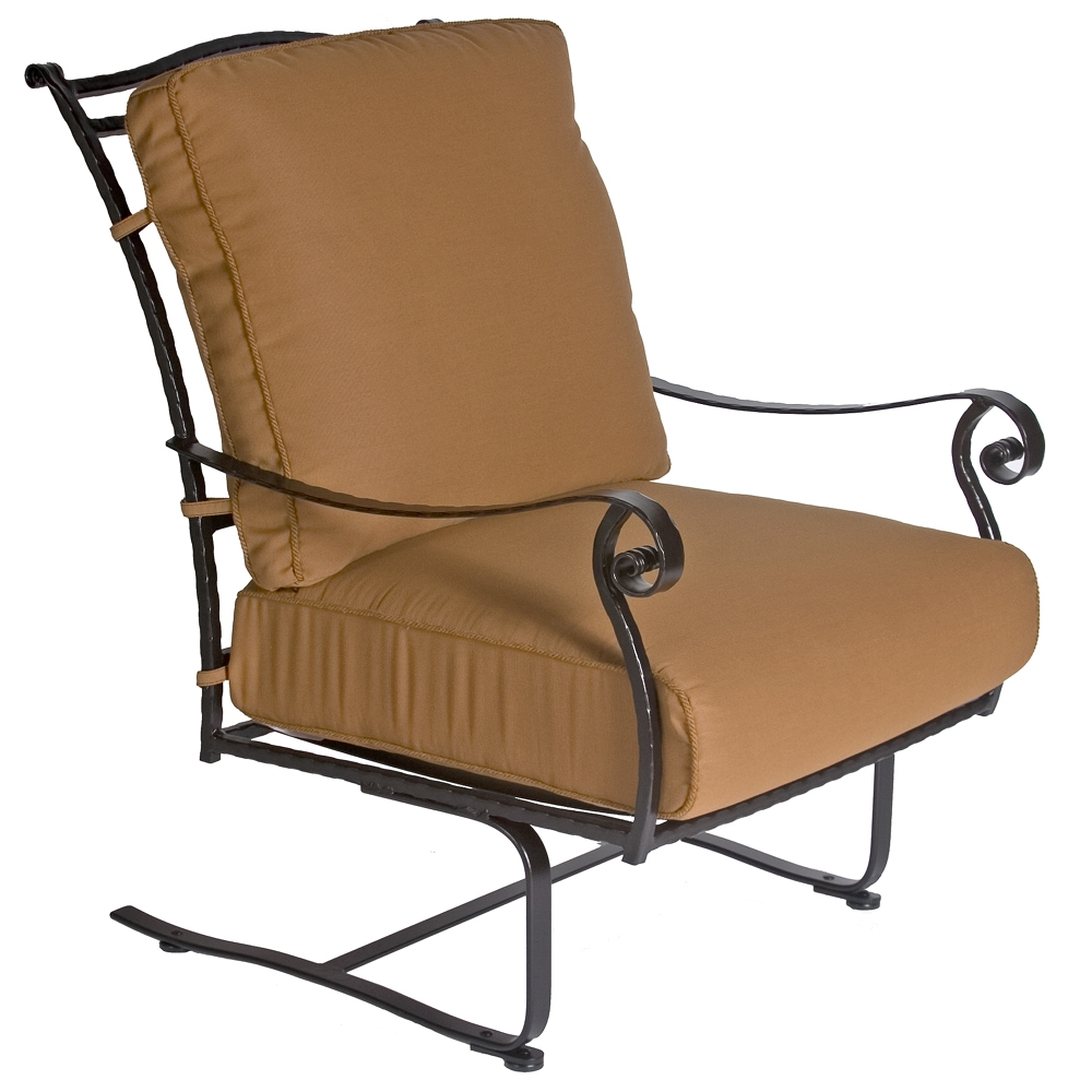 OW Lee San Cristobal Spring Base Club Chair - 695-SB