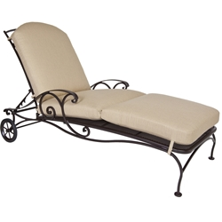 OW Lee Siena Adjustable Chaise Lounge - 8261-CH