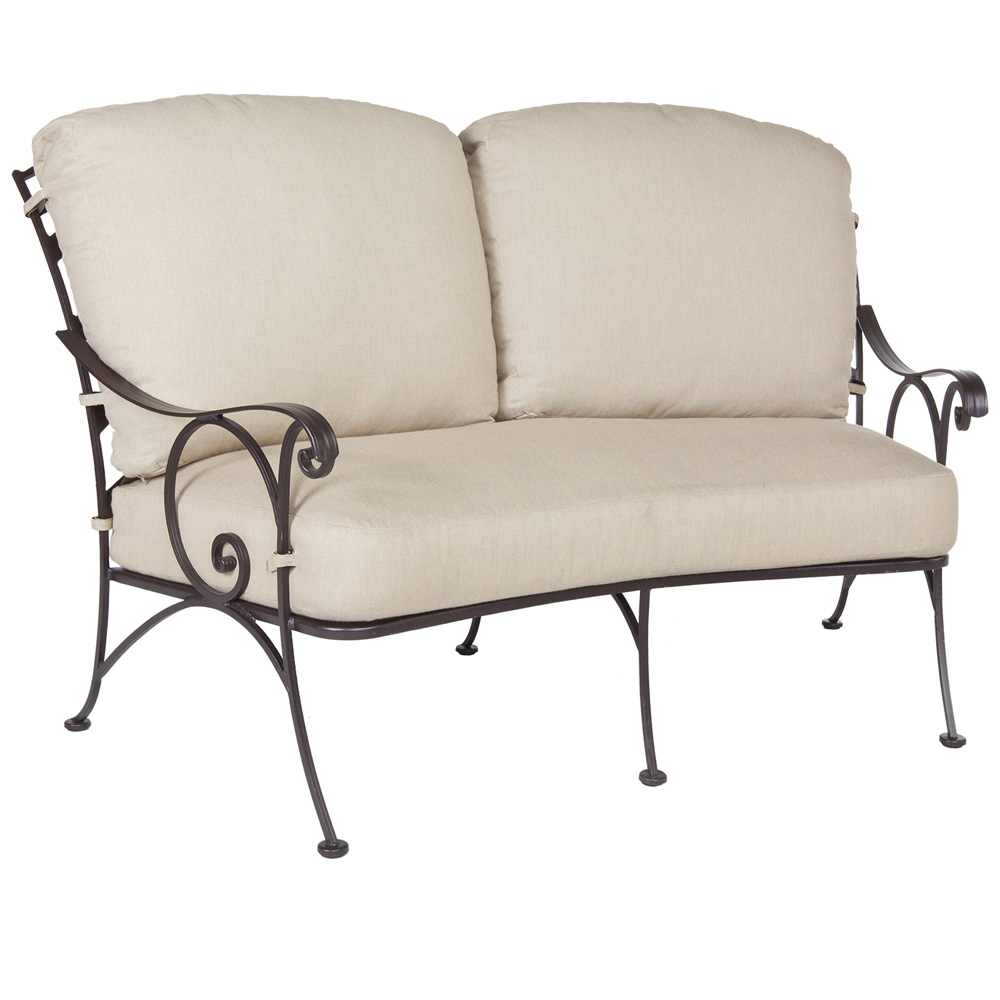 OW Lee Siena Crescent Love Seat - 8262-2S