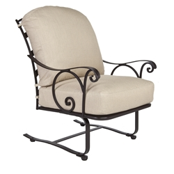 OW Lee Siena Spring Base Lounge Chair - 8264-SB
