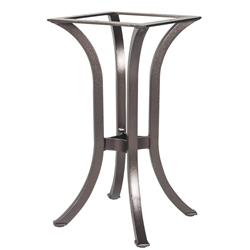 OW Lee Standard Aluminum Dining Table Base 01 - AT-DT01