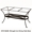 Standard Wrought Iron Dining Table Base (DT07-BASE)