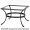 Standard Wrought Iron Coffee Table Base (OT03-BASE)
