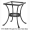 Standard Wrought Iron Side Table Base (ST01-BASE)