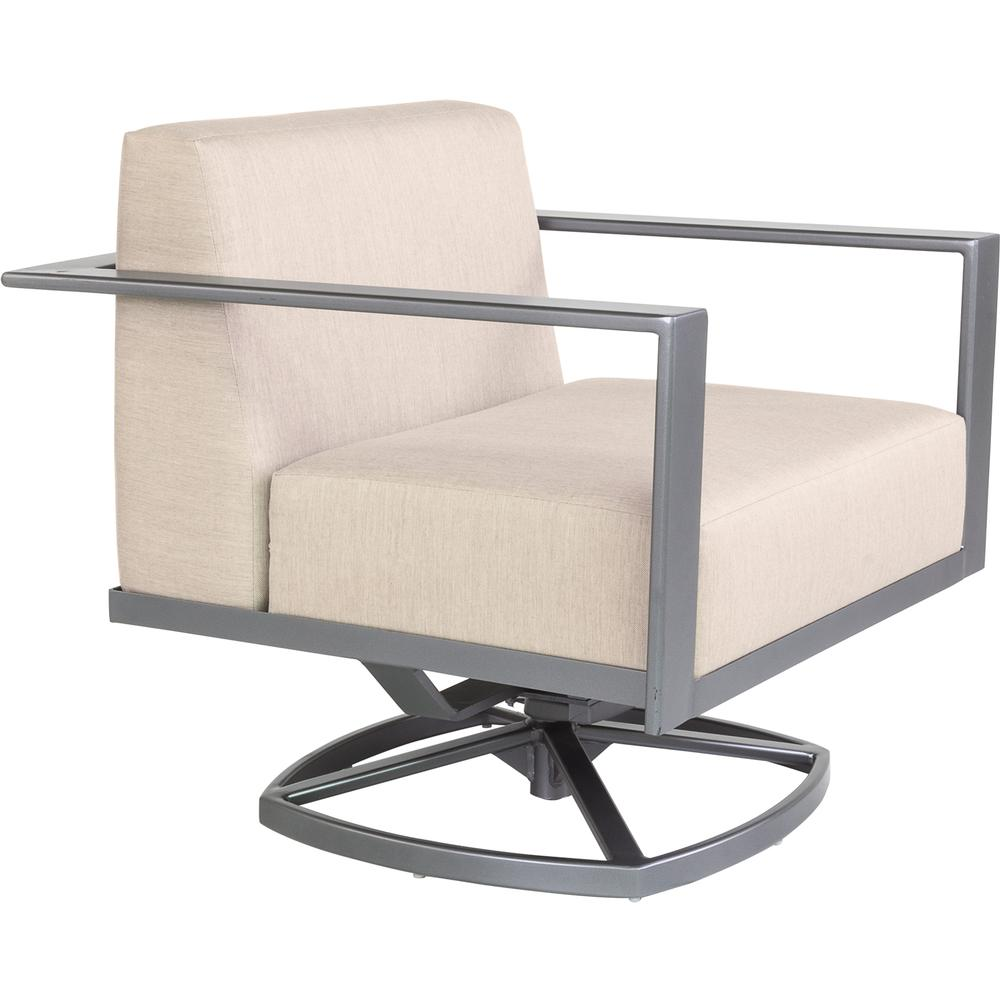 OW Lee Studio Swivel Rocker Lounge Chair - 77186-SR