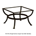 "36"" Square Porcelain Tile Top Coffee Table - P3636SQ-XX-OT03"