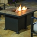 Outdoor aluminum fire table