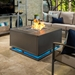 Pacifica L-Sectional Sofa Set with Zen Fire Table - OW-PACIFICA-SET2
