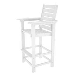 PolyWood Captain Bar Height Chair - CCB30