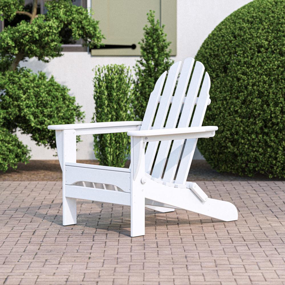 Polywood Clic Folding Adirondack Chair Ad5030