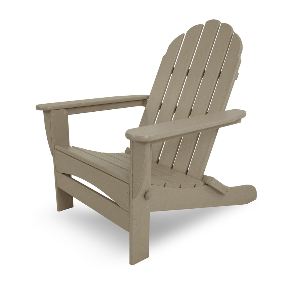 PolyWood Classic Oversized Curved Back Adirondack Chair - AD7030