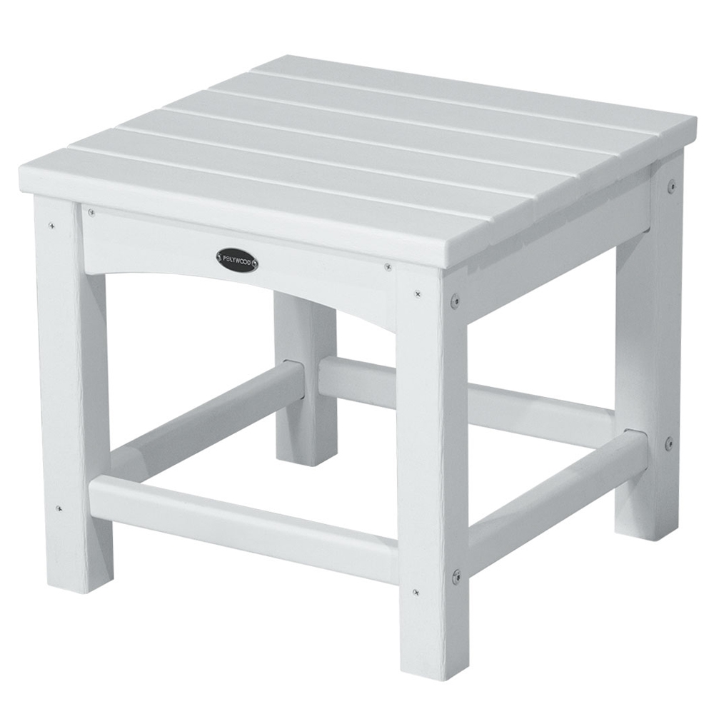 PolyWood Club 18 inch Square Side Table - CLT1818