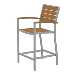 PolyWood Euro Counter Arm Chair - A201