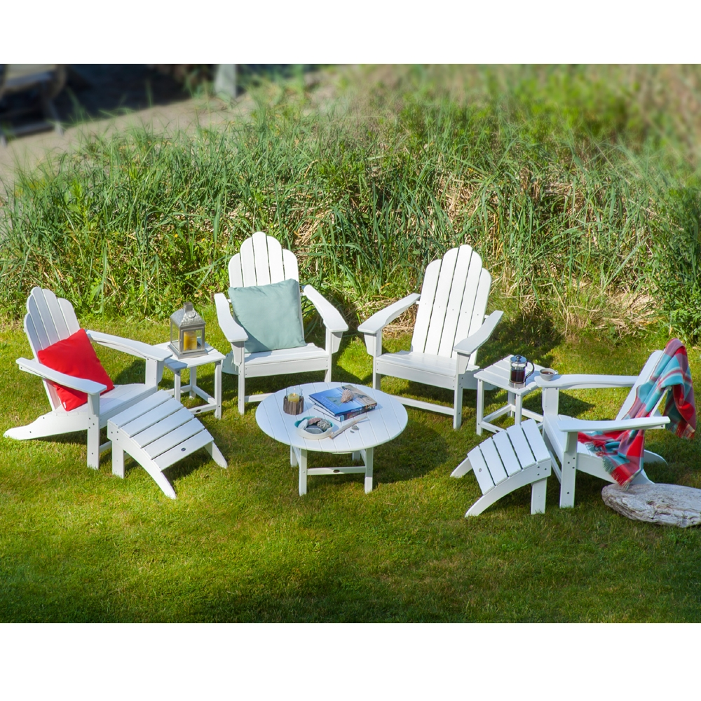 Patio Furniture In Long Island: POLYWOOD® Long Island 9 Piece Patio Chat Set