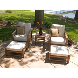 PolyWood Mission Club Chair Set - PW-MISSION-SET6
