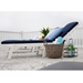 Nautical Armless Chaise - NAC2280