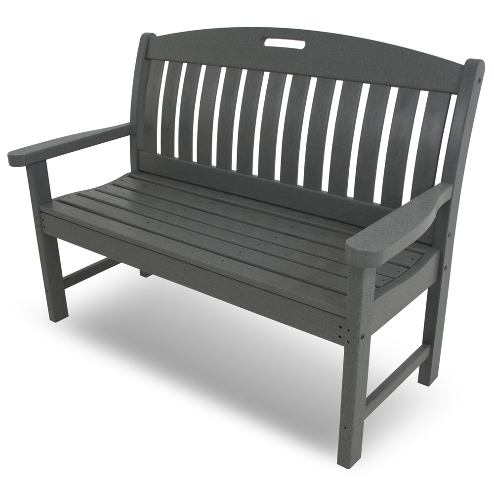 PolyWood Nautical 48 inch Long Bench - NB48