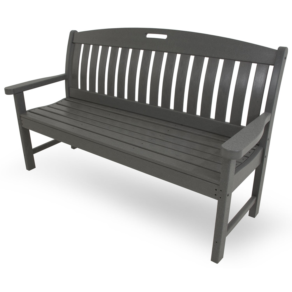 PolyWood Nautical 60 inch Long Bench - NB60
