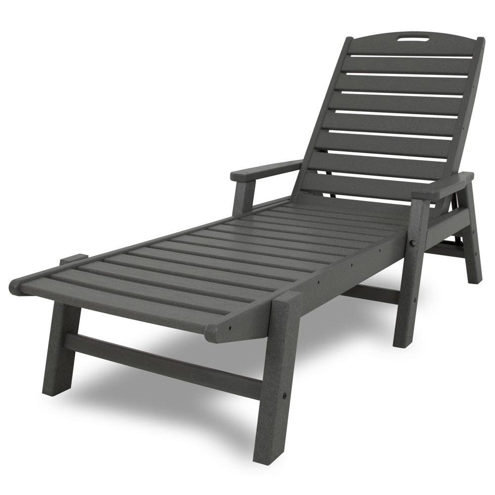 PolyWood Nautical Chaise Lounge - NCC2280