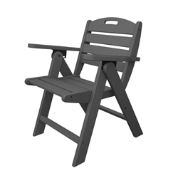 PolyWood Nautical Low Back Chair - NCL32