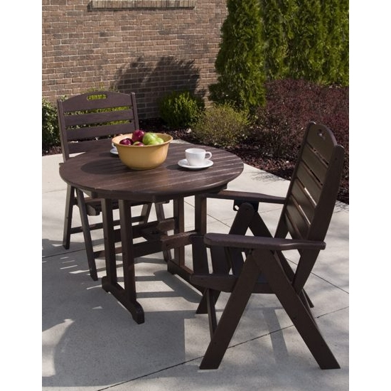 PolyWood Nautical Bistro Set - PW-NAUTICAL-SET7