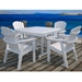 Nautical 44 inch Square Dining Table - NCT44