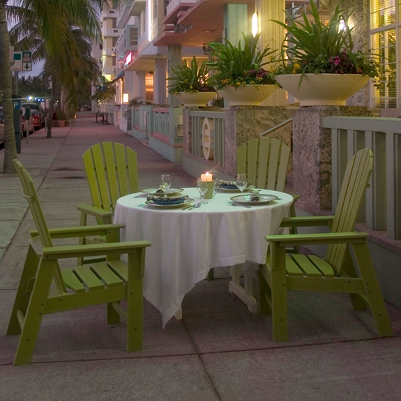PolyWood South Beach 5 Piece Dining Set - PW-SOUTHBEACH-SET1