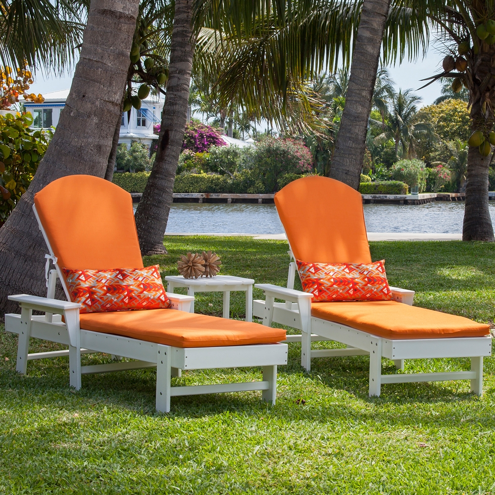 PolyWood South Beach Chaise Set - PW-SOUTHBEACH-SET4