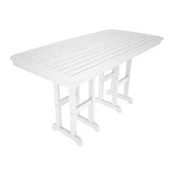 PolyWood Nautical 37 inch by 72 inch Counter Table - NCRT3772