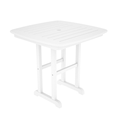 PolyWood Nautical 31 inch Square Dining Table - NCT31