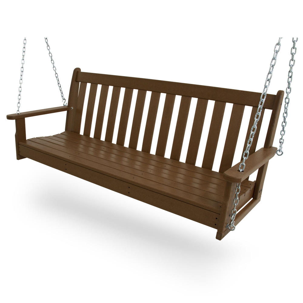 PolyWood Vineyard 60 inch Bench Swing - GNS60