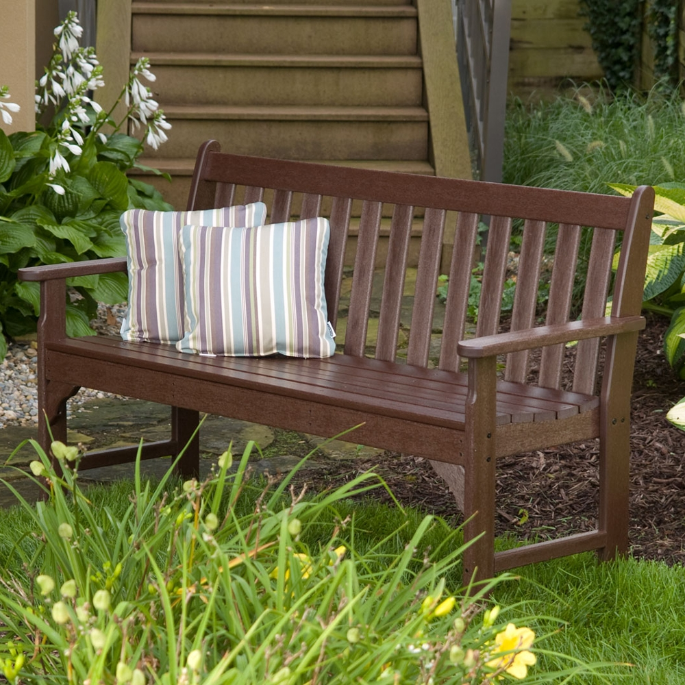 Vineyard 48 Inch Garden Bench Gnb48
