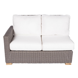 Royal Teak Sanibel Right Arm Sectional Loveseat - SB2R