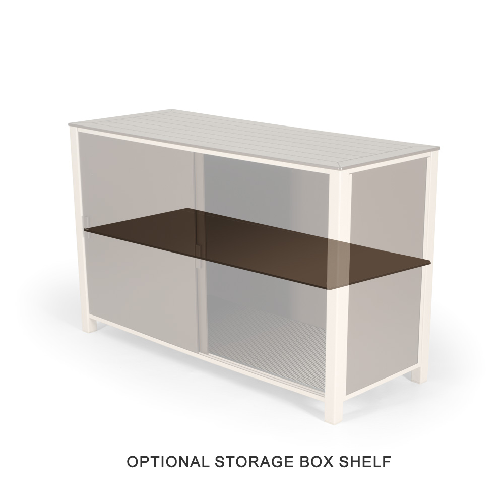 Telescope Casual Patio Storage Box Shelf - 3S10