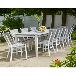 Telescope Casual Avant MGP and Aluminum Dining Set - TC-AVANT-SET2