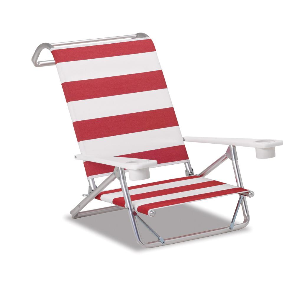 Beau Telescope Casual Original Mini Sun Chaise Beach Chair With MGP Arms   M541