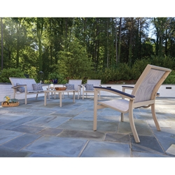 Telescope Casual Belle Isle Sling Patio Lounge Set - TC-BELLESLING-SET4