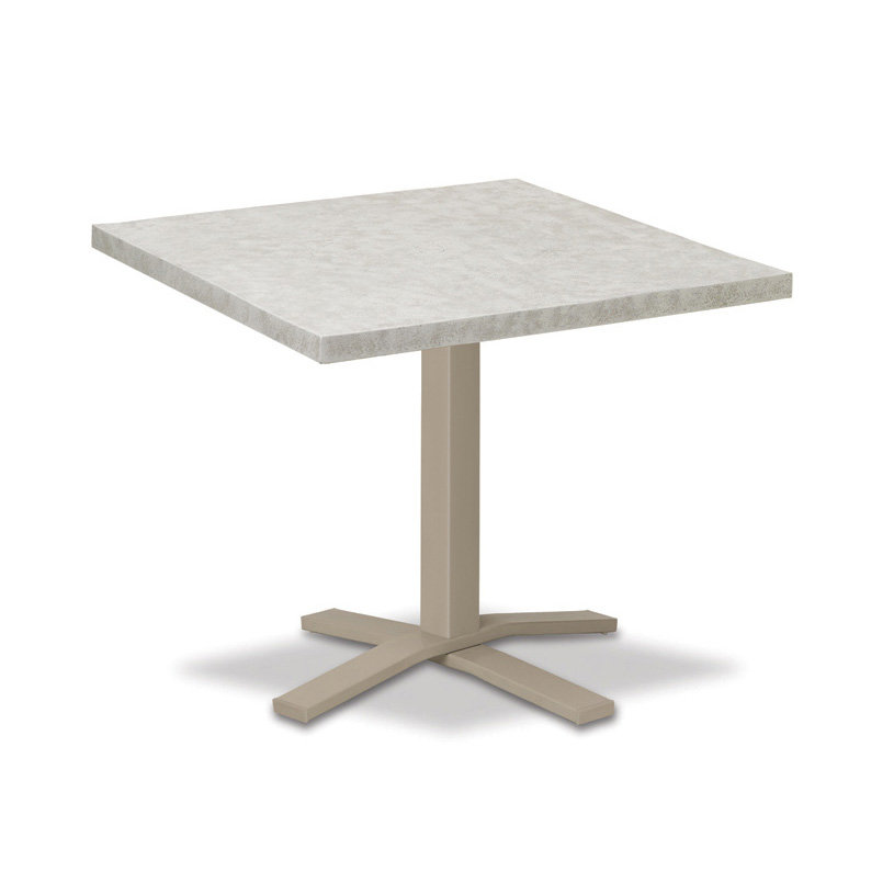 Marvelous Telescope Casual Elements 42 Square Dining Table With Pedestal Base Interior Design Ideas Clesiryabchikinfo