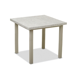 "Telescope Casual Elements 42"" Square Balcony Table - TE20-3810"