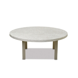 "Telescope Casual 60"" Round Elements Chat Table with Hole - TE70-3780"