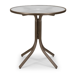 "Telescope Casual 36"" Round Balcony Height Table - 5960-3W50LEG"