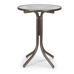 "Telescope Casual 30"" Round Bar Height Table - 5980-4W20LEG"