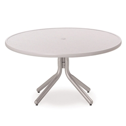 "Telescope Casual Hammered MGP 42"" Round Chat Height Table - 22""H - T900-1W50"