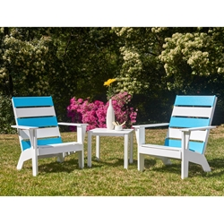 Telescope Casual Hudson MGP Adirondack Chair and Side Table Set - TC-HUDSON-SET2