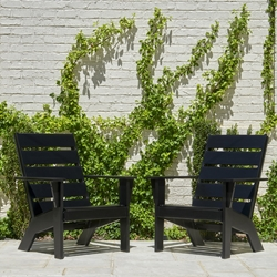 Telescope Casual Hudson Set of 2 Arm Chairs - TC-HUDSON-SET4