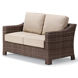 Telescope Casual Lake Shore Wicker Loveseat - 2L40